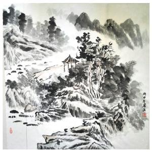 莫宏生国画作品《【雾都】作者莫宏生》价格1440.00元