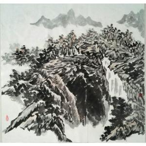 莫宏生国画作品《【云山】作者莫宏生》价格1440.00元