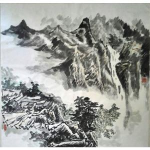 莫宏生国画作品《【云中山】作者莫宏生》价格1440.00元