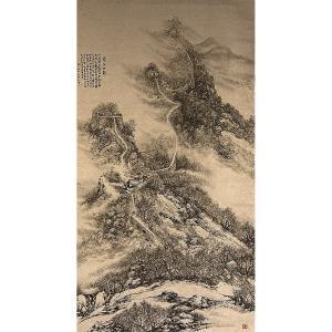 王林昌国画作品《【雪色古韵】作者王林昌》价格18866.00元