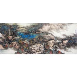 王林昌国画作品《【岁月慢中最好】作者王林昌》价格13296.00元