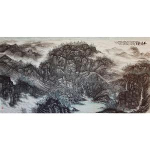 王林昌国画作品《【平和之象】作者王林昌》价格33600.00元