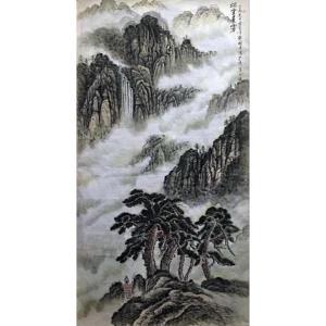 樊国平国画作品《【烟云层雾】作者樊国平》价格36000.00元