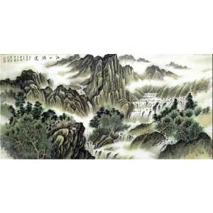 樊国平国画作品《【江山鸿运】作者樊国平》价格26400.00元