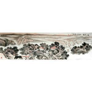 周升荣国画作品《【暖春】作者周升荣》价格11520.00元