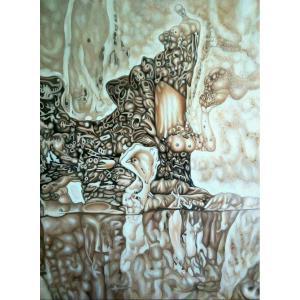 雷寿平油画作品《【世纪神话二】作者雷寿平》价格20000.00元