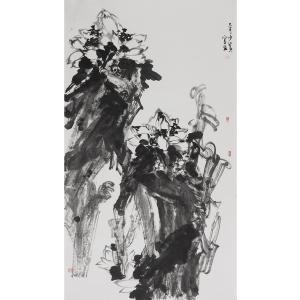 范少男国画作品《【佛手人心】作者范少男》价格12000.00元