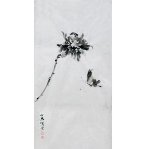 范少男国画作品《【蝶中飞】作者范少男》价格480.00元