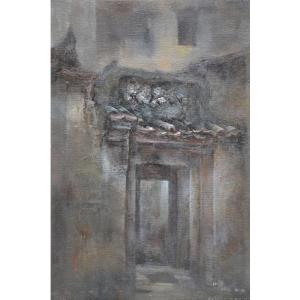 胡静油画作品《【门】作者胡静》价格4800.00元