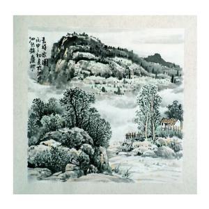 陈庆明国画作品《【家园】作者陈庆明》价格1200.00元