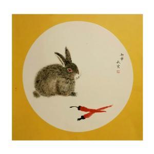 陈秋宏国画作品《【逗趣】作者陈秋宏》价格1200.00元