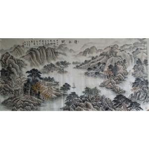 刘燃国画作品《【清秋赋】作者刘燃》价格192000.00元