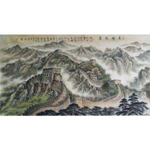 刘燃国画作品《【长城】作者刘燃》价格192000.00元