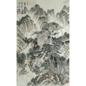刘燃国画作品《【丰年人欢】作者刘燃》价格72000.00元