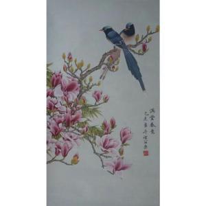 林丽姐国画作品《【满堂春意】作者林丽姐》价格1080.00元