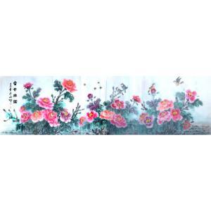 胡顺卿国画作品《【富贵乐园】作者胡顺卿》价格2400.00元