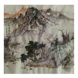 陈亚龙国画作品《【山水6】作者陈亚龙》价格960.00元