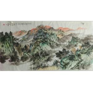 陈亚龙国画作品《【山水7】作者陈亚龙》价格960.00元