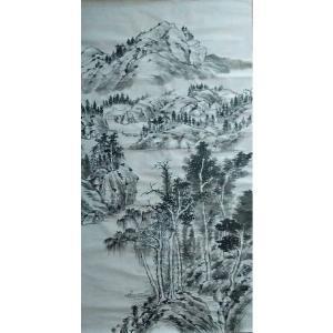 陈亚龙国画作品《【山水8】作者陈亚龙》价格960.00元