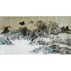 陈亚龙国画作品《【山水10】作者陈亚龙》价格960.00元