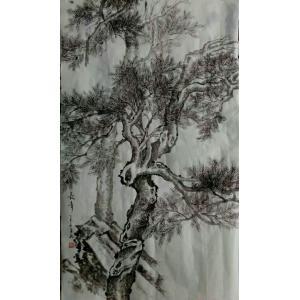 陈亚龙国画作品《【长青树】作者陈亚龙》价格960.00元