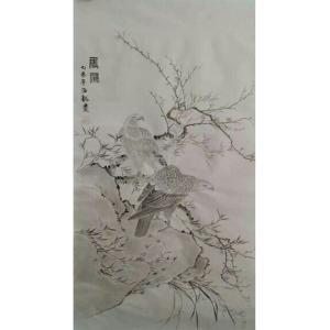黄治龙国画作品《【花鸟】作者黄治龙》价格4800.00元