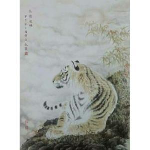 黄治龙国画作品《【高瞻远瞩】作者黄治龙》价格2400.00元