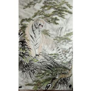 黄治龙国画作品《【咆哮】作者黄治龙》价格19200.00元