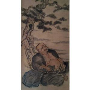 黄治龙国画作品《【休息】作者黄治龙》价格4800.00元