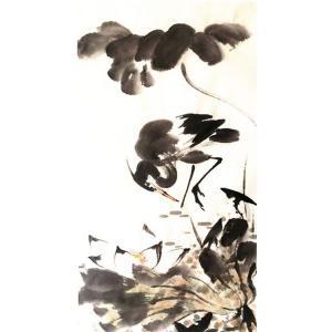 王怀广国画作品《【花鸟9】作者王怀广》价格2160.00元