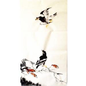王怀广国画作品《【花鸟10】作者王怀广》价格2160.00元