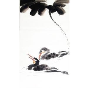 王怀广国画作品《【花鸟13】作者王怀广》价格2160.00元