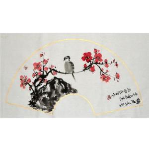 李清山国画作品《【花鸟2】作者李清山》价格200.00元