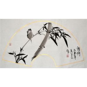李清山国画作品《【花鸟4】作者李清山》价格200.00元