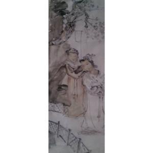 范云平国画作品《【人物2】作者范云平》价格240.00元