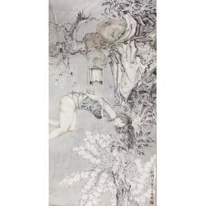 范云平国画作品《【人物4】作者范云平》价格2400.00元