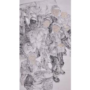 范云平国画作品《【人物7】作者范云平》价格4800.00元