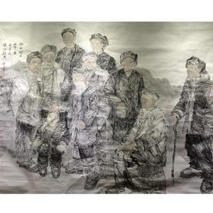 范云平国画作品《【人物9】作者范云平》价格7200.00元