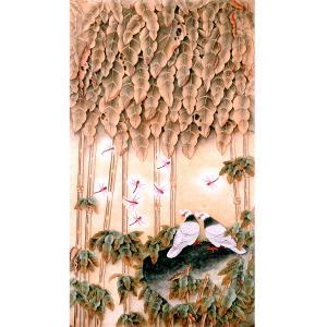 吕萍国画作品《【秋韵】作者吕萍》价格24000.00元