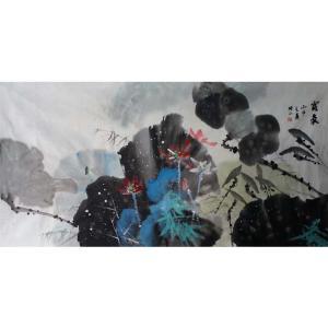 高隆正国画作品《【露气】作者高隆正》价格2400.00元