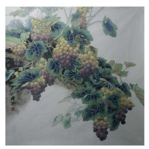 高隆正国画作品《【葡萄】作者高隆正》价格7200.00元