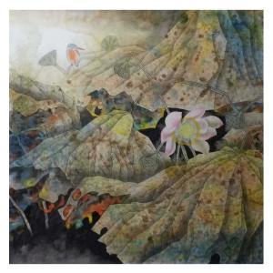 高隆正国画作品《【秋荷】作者高隆正》价格7200.00元