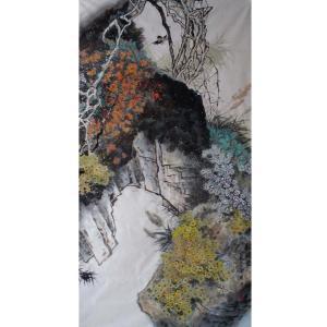 高隆正国画作品《【秋艳图】作者高隆正》价格19200.00元