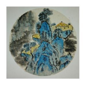 李昇国画作品《【高山】作者李昇》价格720.00元