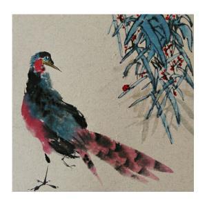 李昇国画作品《【花鸟21】作者李昇》价格720.00元