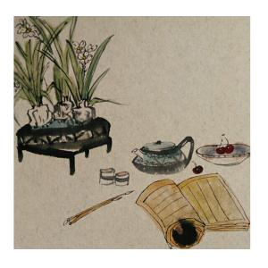 李昇国画作品《【花鸟23】作者李昇》价格720.00元