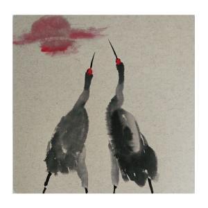 李昇国画作品《【花鸟25】作者李昇》价格720.00元