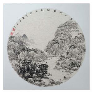 刘石夫国画作品《【山水】作者刘石夫》价格1440.00元