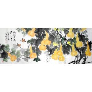 柳子峻国画作品《【福禄家园】作者柳子峻》价格11040.00元