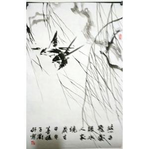 刘好国画作品《【飞燕】作者刘好》价格720.00元